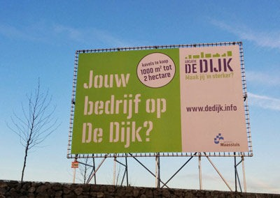 Ontwikkeling bedrijventerrein De Dijk Gemeente Maassluis