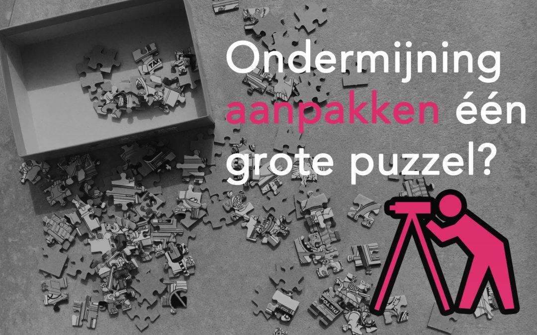 Ondermijning aanpakken één grote puzzel?